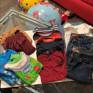 Bulk of boys clothes size 8-12